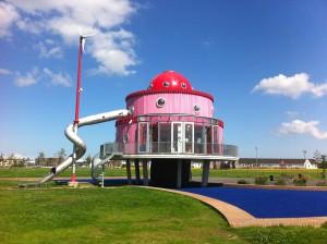 Klokhuis - Stad & Natuur - Cascadepark Almere Poort