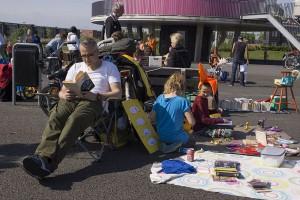 Koningsdag 2014 Cascadepark Almere Poort